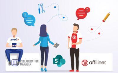 Управление знаниями SharePoint в компании affilinet