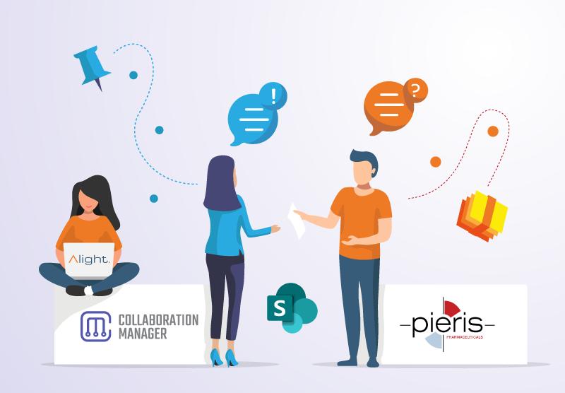Pieris Pharmaceuticals GmbH: Modernes Intranet und sichere Zusammenarbeit