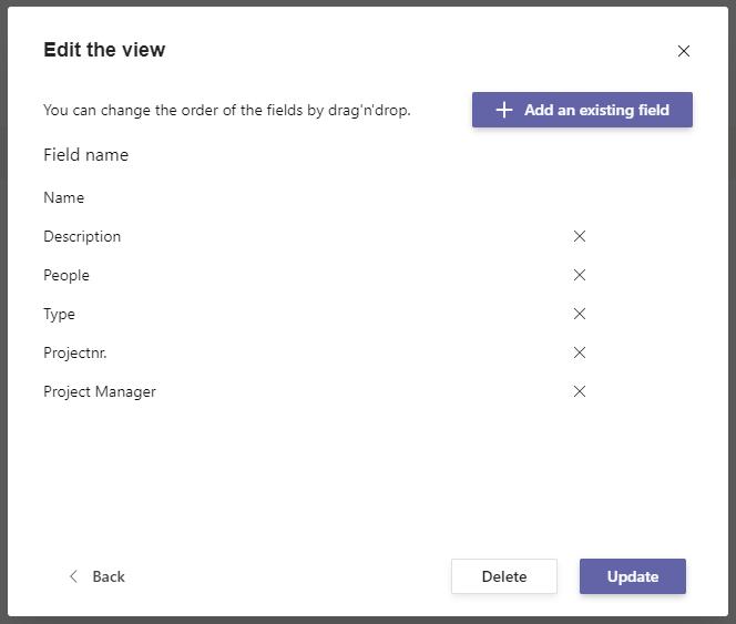 Metadata for Microsoft Teams Use Case