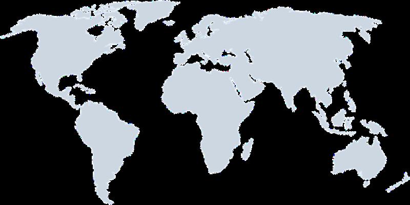 Weltkarte Partner Solutions2Share
