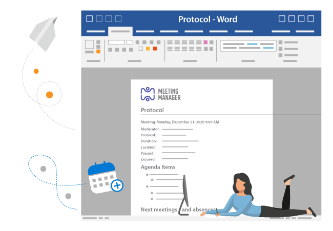 Collaborate on your meeting protocols in SharePoint and Office365