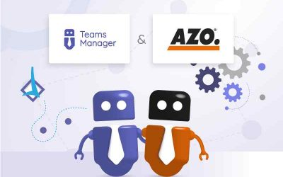 Teams Manager представляет структуру Microsoft Teams на AZO