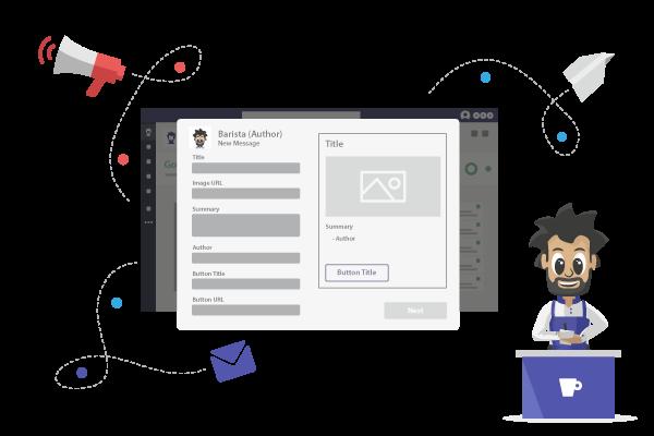Send messages to employees in Microsoft Teams-Отправляйте сообщения сотрудникам в Microsoft Teams