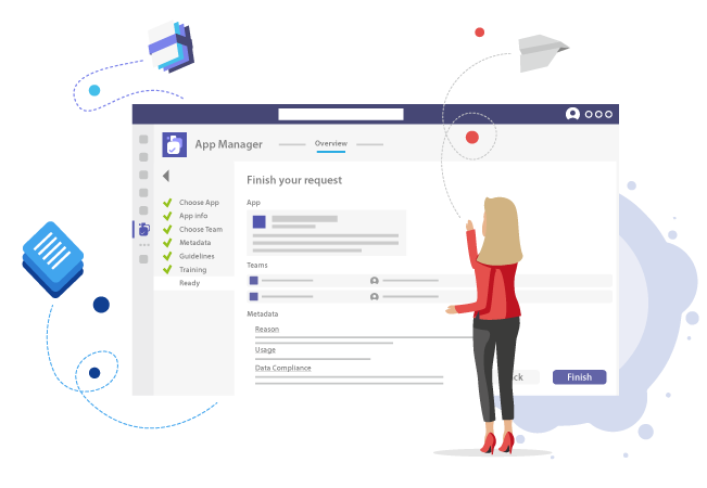 Microsoft Teams App Request with Metadata and Guidelines