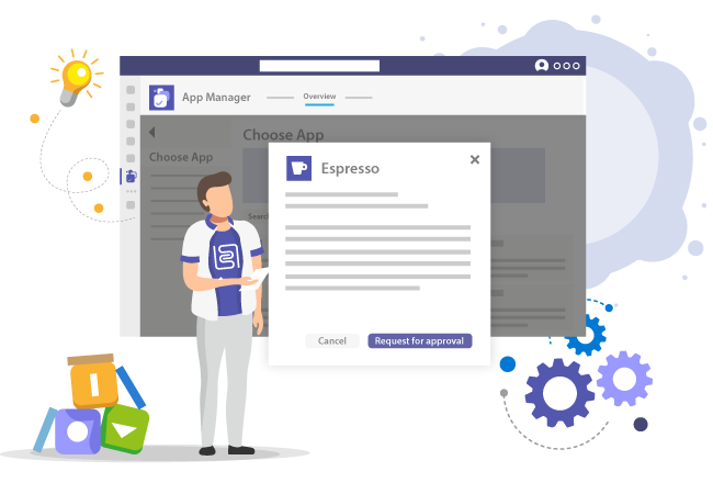 Start Microsoft Teams App Request
