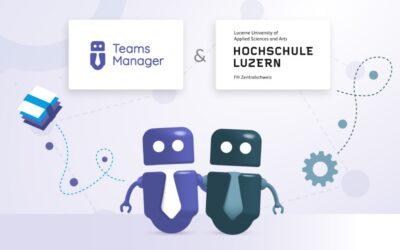 Teams Manager в университете Люцерна