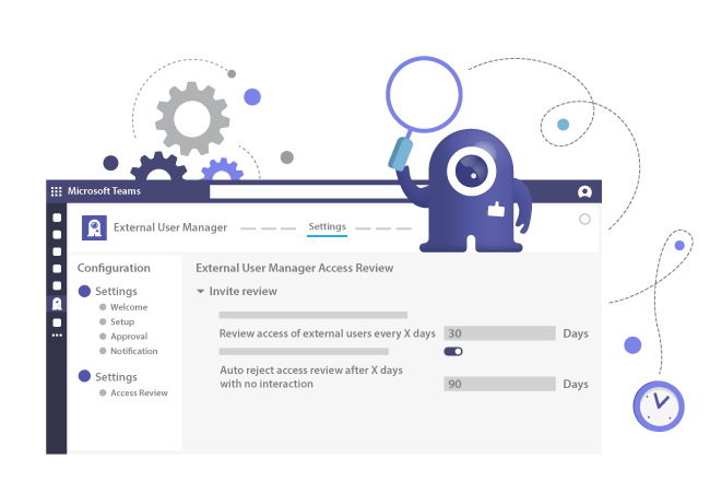 Access review for external users in Microsoft Teams