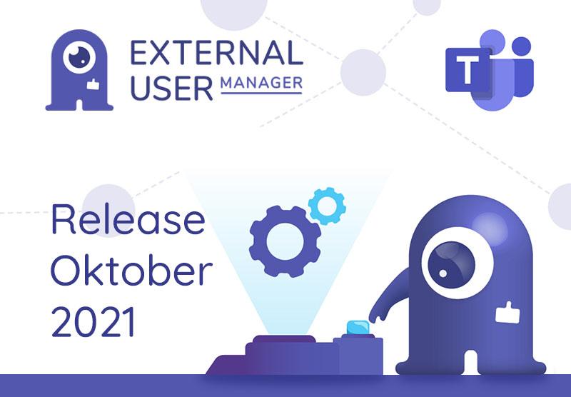 External User Manager Release Oktober 2021